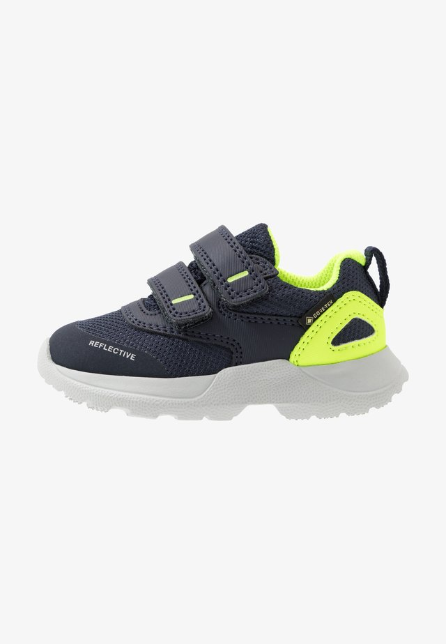 RUSH - Sneakers - blau/gelb