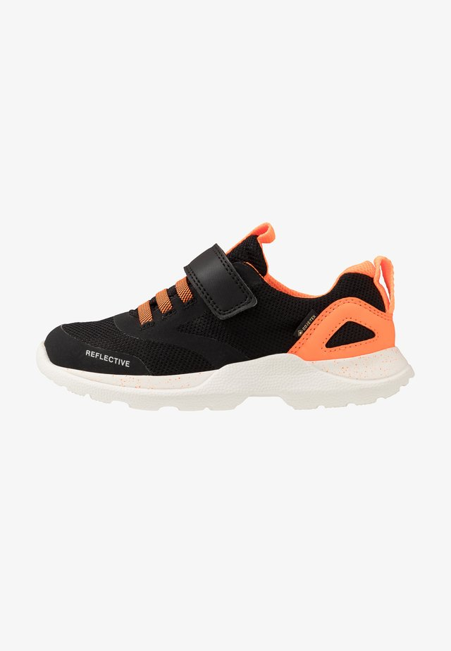 RUSH - Trainers - schwarz/orange