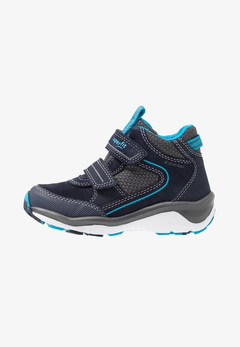 Superfit - SPORT5 - Korte laarzen - blau/grau