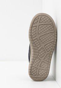 Superfit - EARTH - Chaussures à scratch - blau/beige - 5