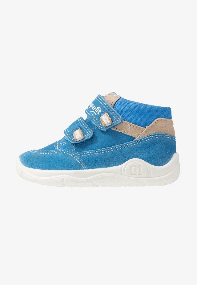 UNIVERSE - Baby shoes - blau