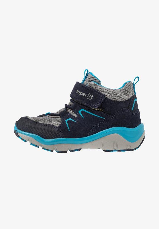 SPORT - Støvletter - blau/grau
