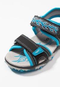 Superfit - MIKE - Sandály - schwarz/blau - 5