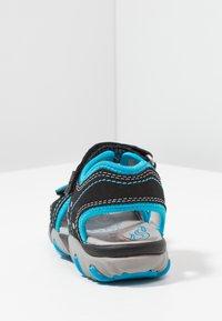 Superfit - MIKE - Sandály - schwarz/blau - 3