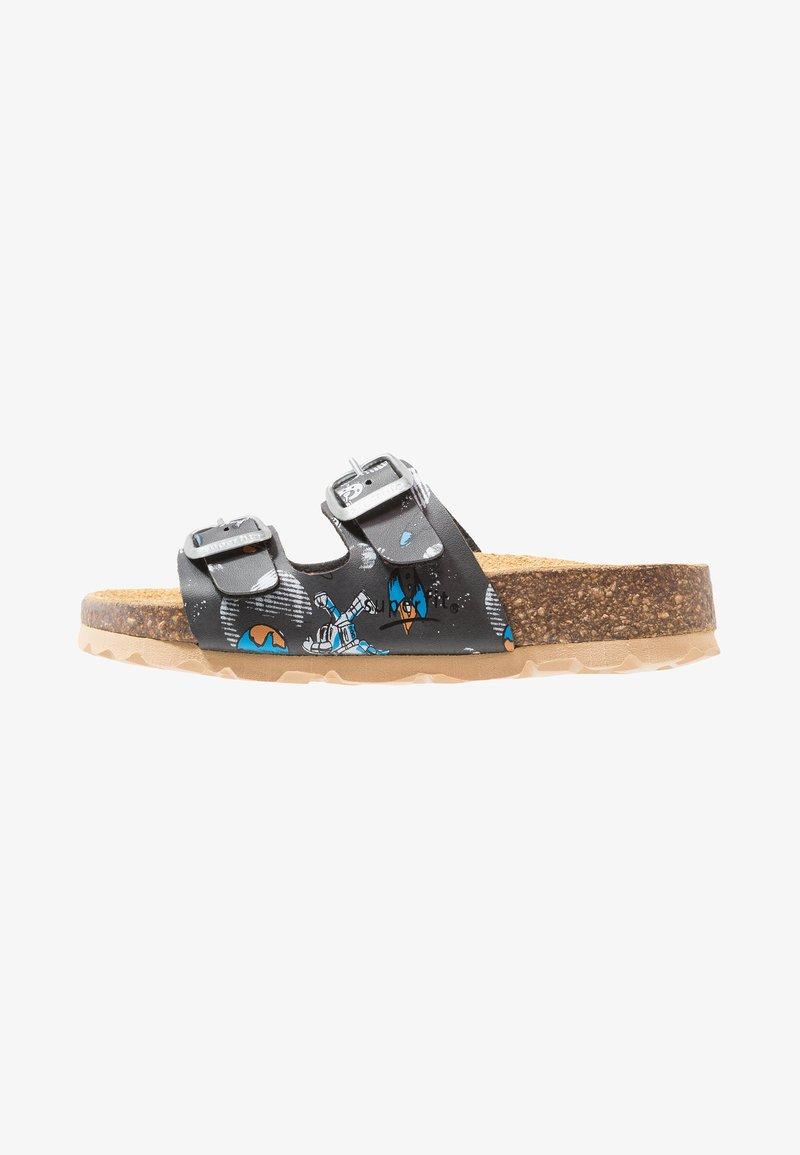 Superfit - FUSSBETTPANTOFFEL - Domácí obuv - stone/multicolor