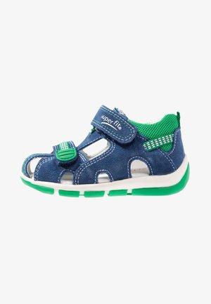 FREDDY - Baby shoes - blau/grün