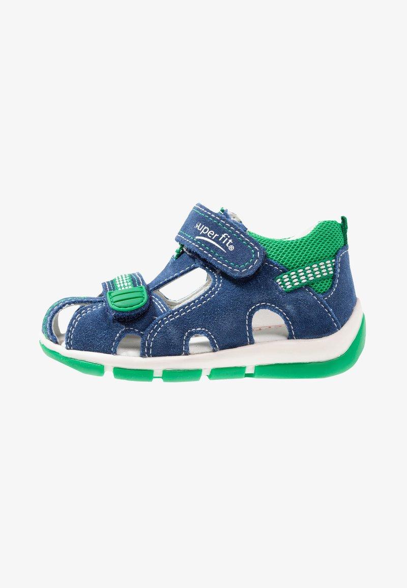 Superfit - FREDDY - Baby shoes - blau/grün
