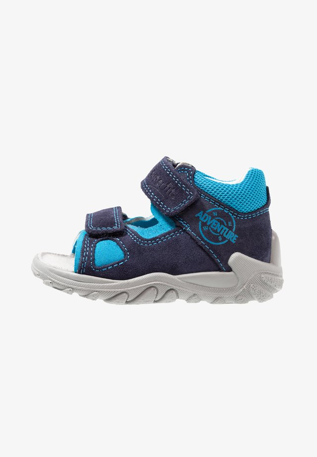 FLOW - Sandalen - blau