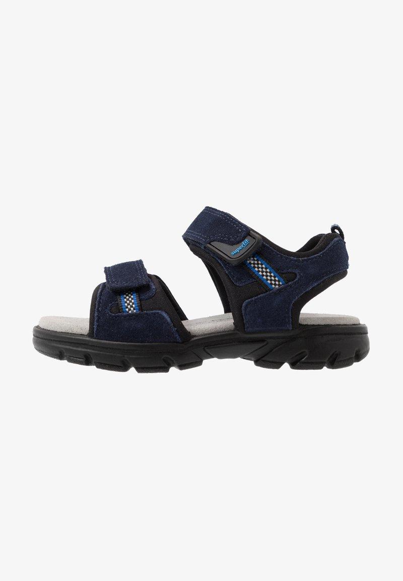 Superfit - SCORPIUS - Sandales de randonnée - blau