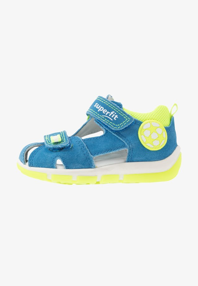 FREDDY - Sandaalit nilkkaremmillä - blau