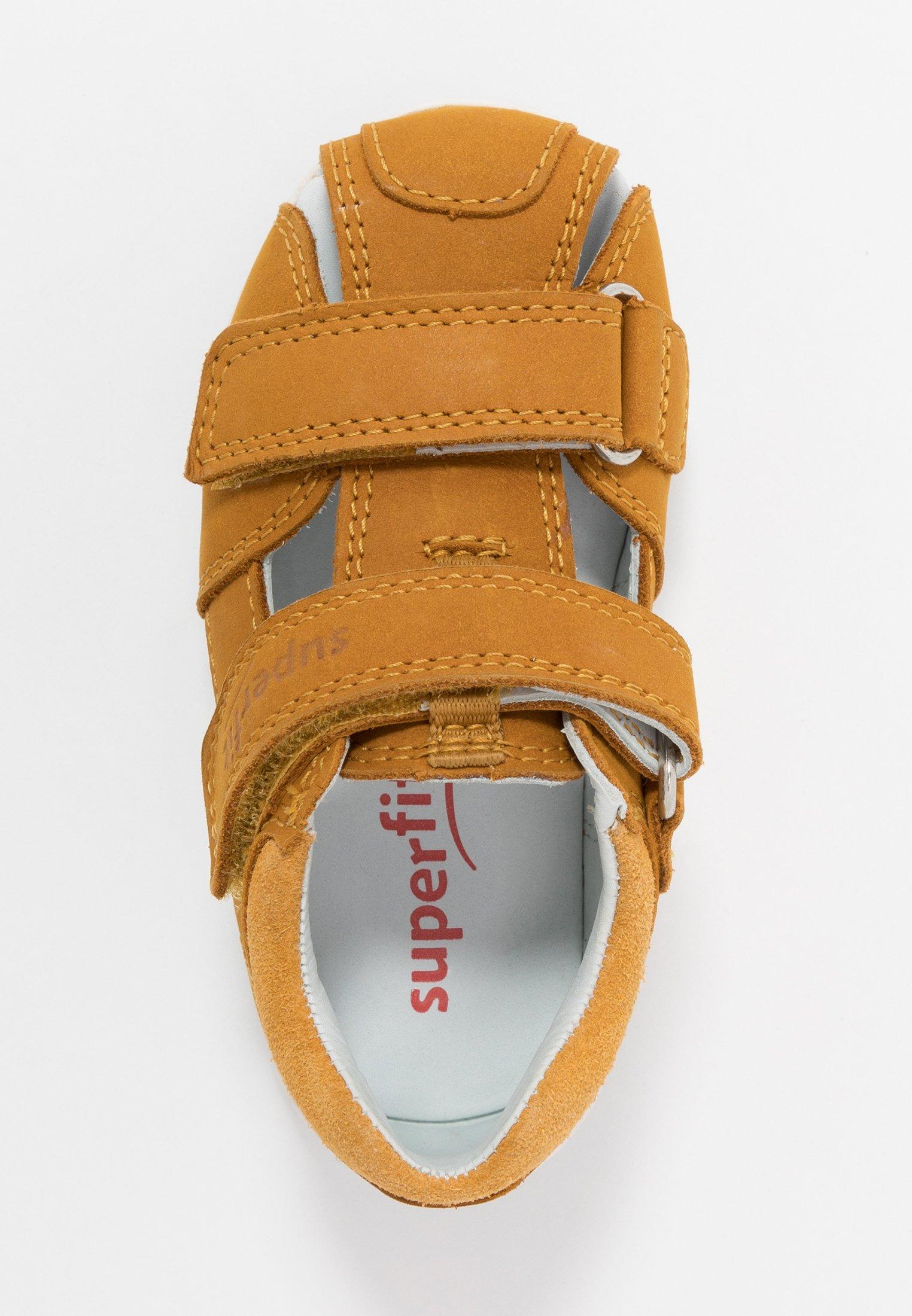 Superfit FREDDY - Lær-at-gå-sko - gelb