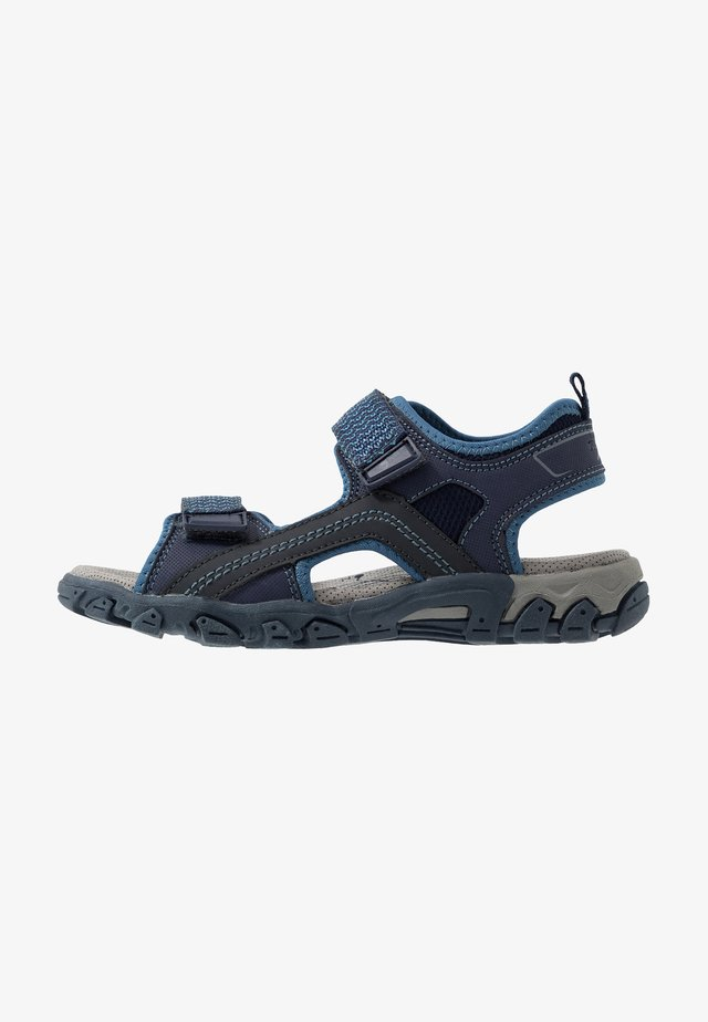 HIKE - Walking sandals - blau