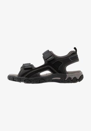 HIKE - Walking sandals - schwarz