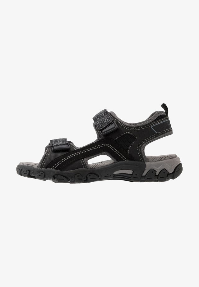 HIKE - Walking sandals - schwarz