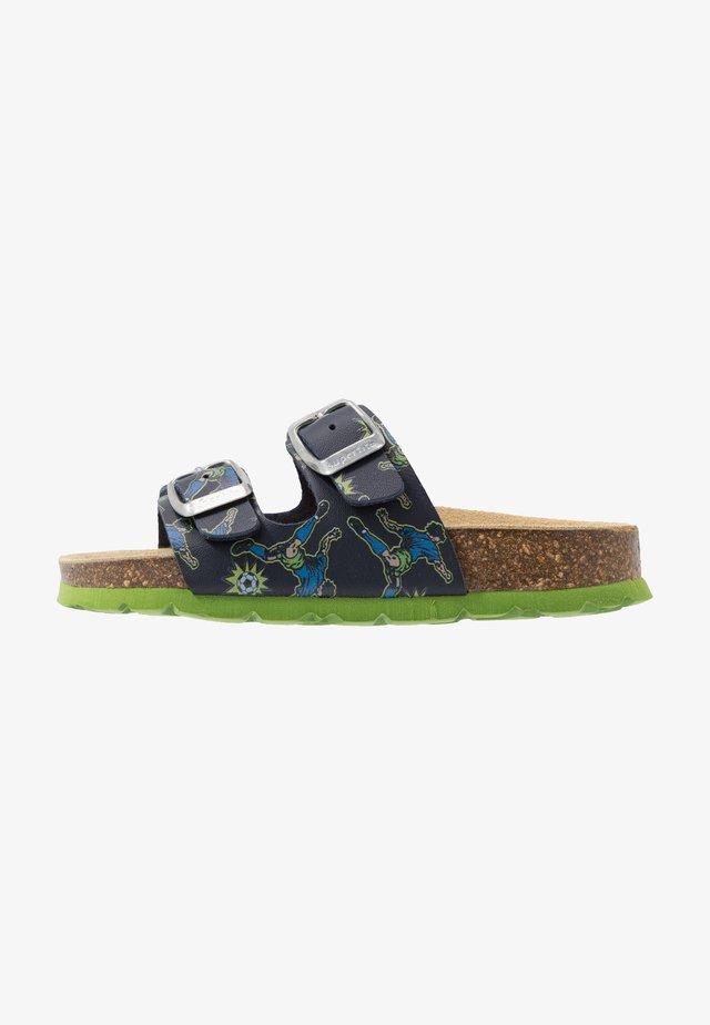 Pantofole - blau