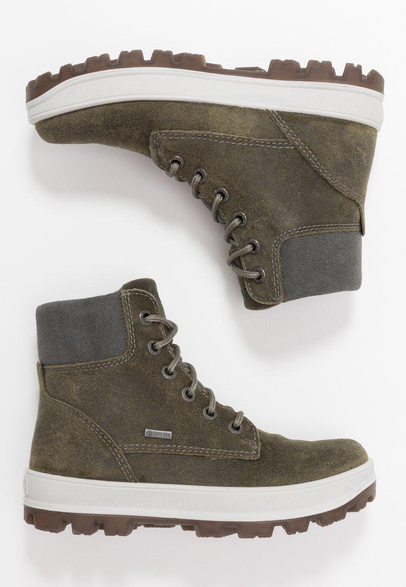 Superfit - TEDD - Lace-up ankle boots - grün