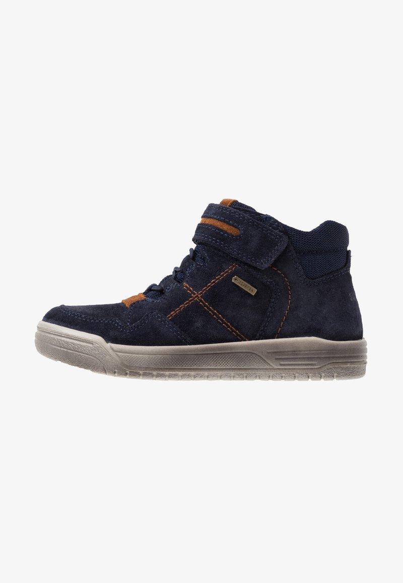 Superfit - EARTH - Sneaker high - blau/braun