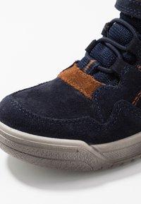Superfit - EARTH - Sneaker high - blau/braun - 5