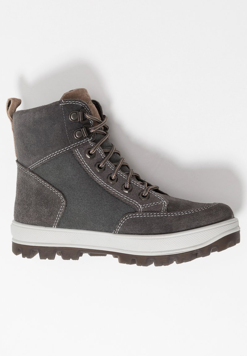 Superfit - TEDD - Lace-up ankle boots - grau
