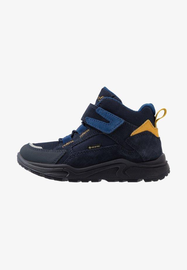 BLIZZARD - Støvletter - blau/gelb