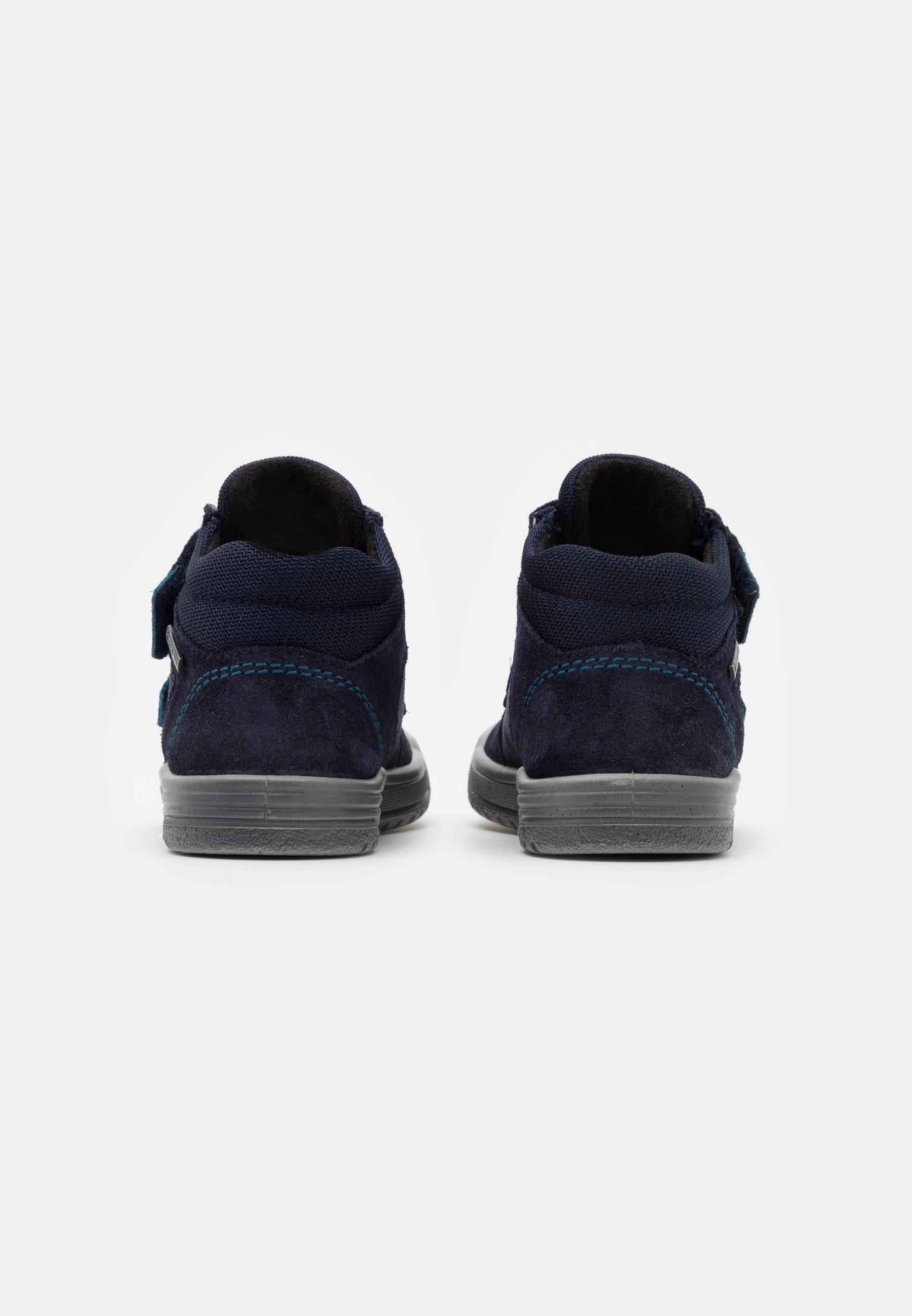 EARTH Sneakers hoog blau