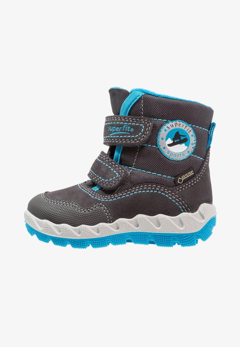 Superfit - ICEBIRD - Zimní obuv - grau/blau