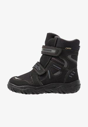 HUSKY - Winter boots - schwarz/grau