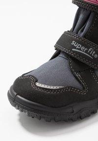 Superfit - HUSKY - Winter boots - schwarz/rot - 5