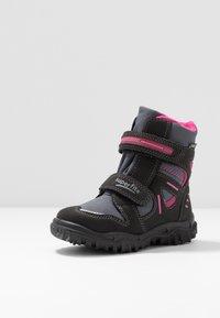 Superfit - HUSKY - Winter boots - schwarz/rot - 2