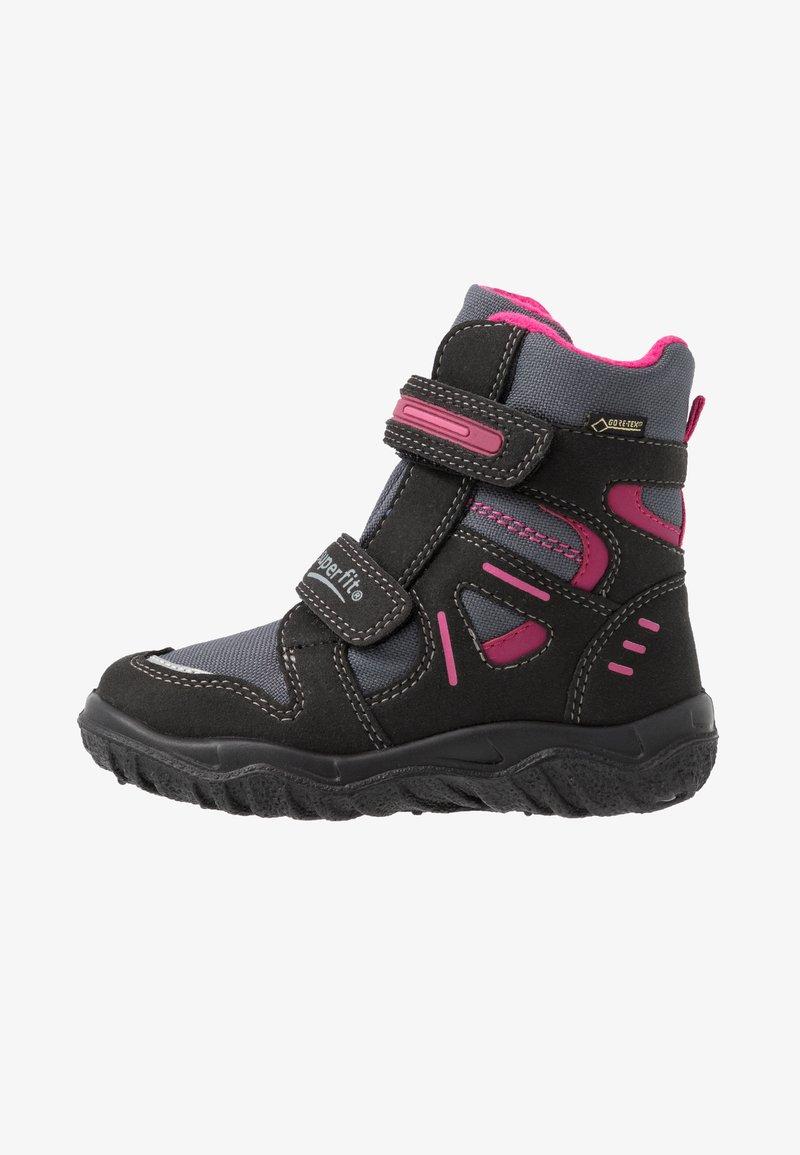 Superfit - HUSKY - Winter boots - schwarz/rot