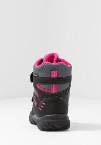 Superfit - HUSKY - Winter boots - schwarz/rot - 3