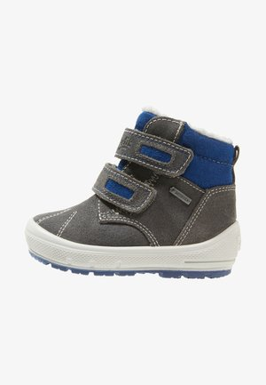 GROOVY - Baby shoes - grau/blau