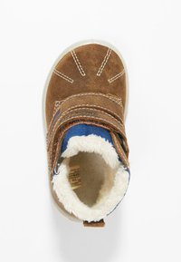 Superfit - GROOVY - Baby shoes - brown/blue - 1