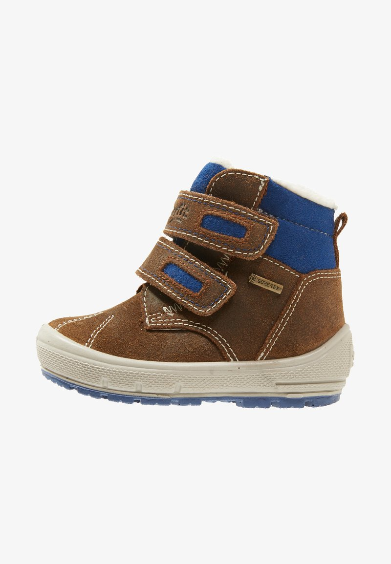 Superfit - GROOVY - Baby shoes - brown/blue