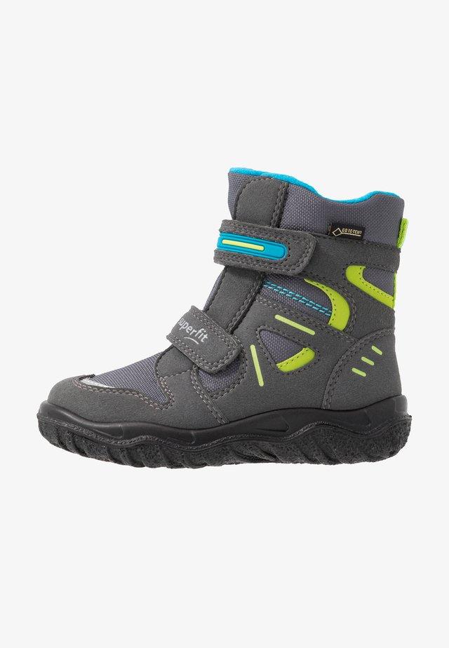 HUSKY - Snowboots  - grau/blau