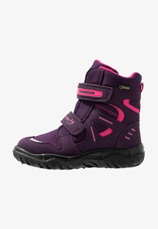 HUSKY - Snowboots  - lila/rosa