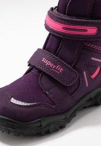 Superfit - HUSKY - Winter boots - lila/rosa - 5