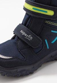 Superfit - HUSKY - Snowboot/Winterstiefel - blau/grün - 5
