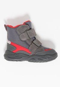 Superfit - GLACIER - Zimní obuv - grau/rot - 1