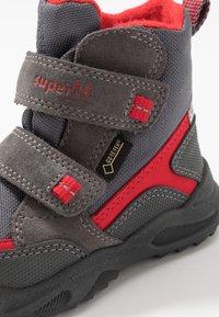 Superfit - GLACIER - Zimní obuv - grau/rot - 5