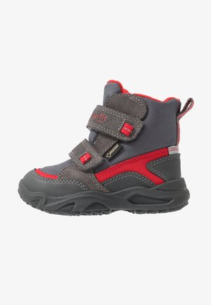 GLACIER - Zimní obuv - grau/rot