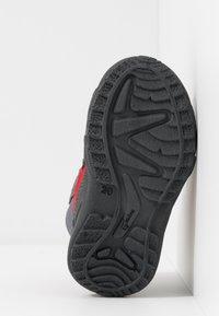 Superfit - GLACIER - Zimní obuv - grau/rot - 4