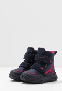 Superfit - GLACIER - Winter boots - blau/rot - 3