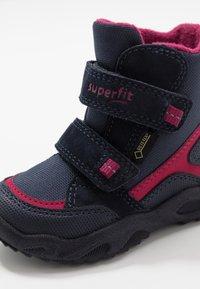 Superfit - GLACIER - Winter boots - blau/rot - 2