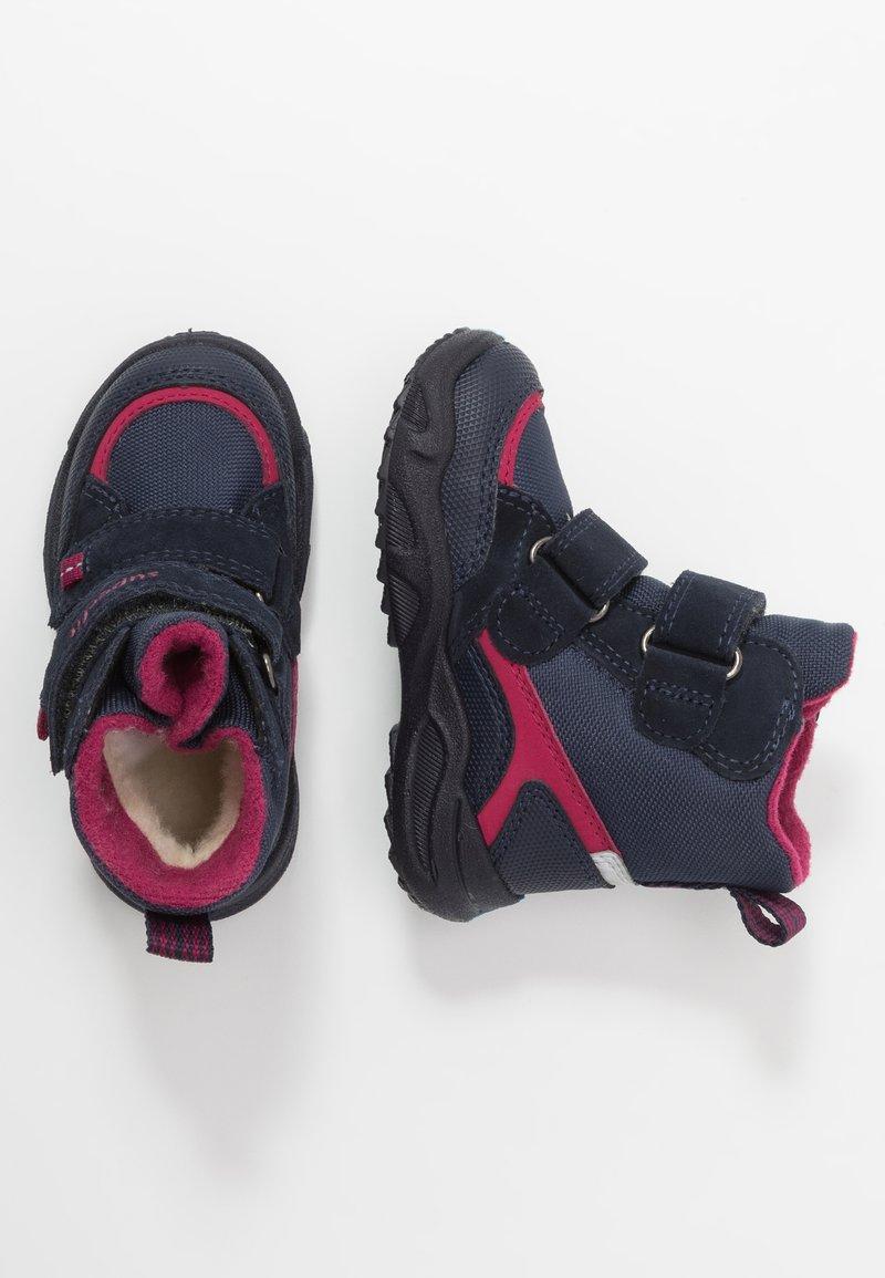 Superfit - GLACIER - Winter boots - blau/rot