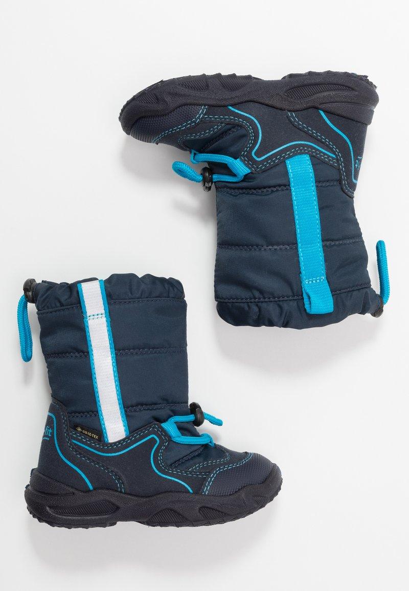 Superfit - GLACIER - Botas para la nieve - blau