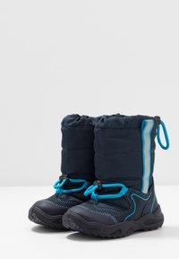Superfit - GLACIER - Botas para la nieve - blau - 3