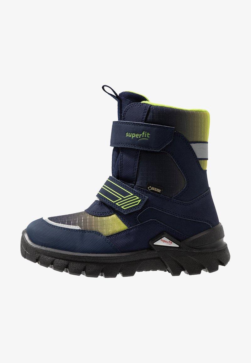 Superfit - Winter boots - blau/grün