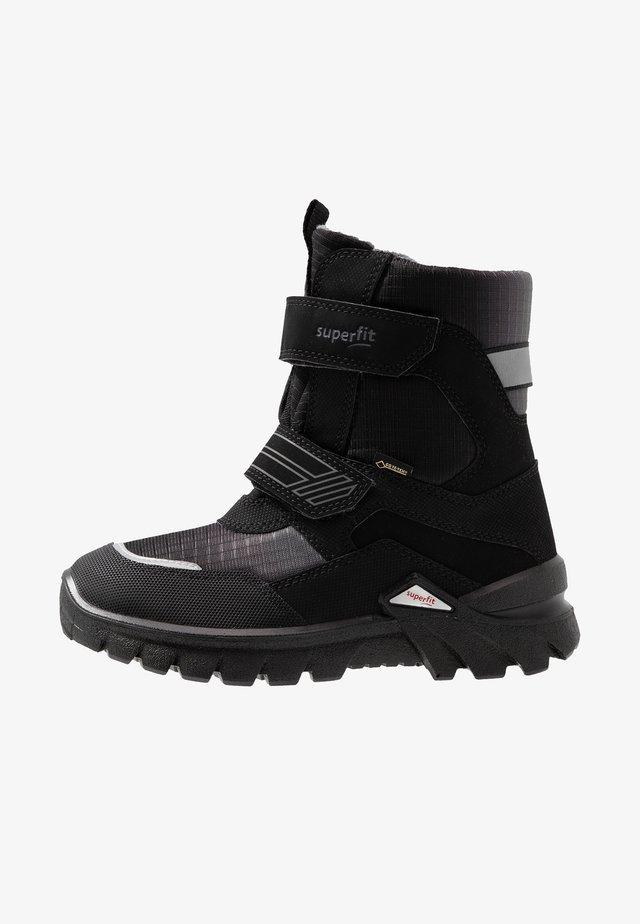 Snowboots  - schwarz/grau