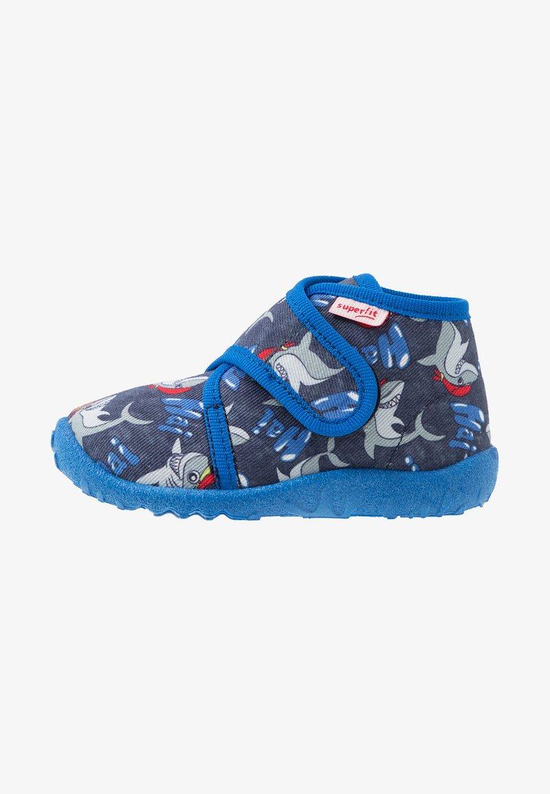Superfit - SPOTTY - Pantuflas - blau
